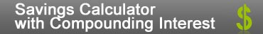 Savings Calculator Compounding Interest